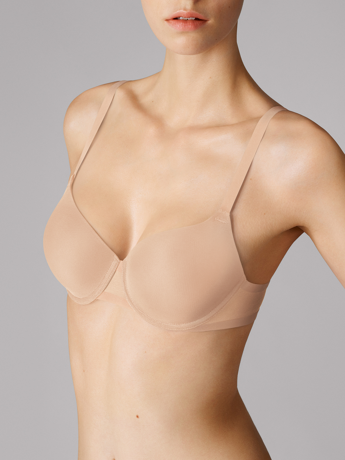 Wolford Apparel & Accessories > Clothing > Reggiseni Tulle Cup Bra - 4545 - 85C
